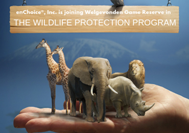enChoice Supports a Unique Technology-Based Wildlife Protection Program